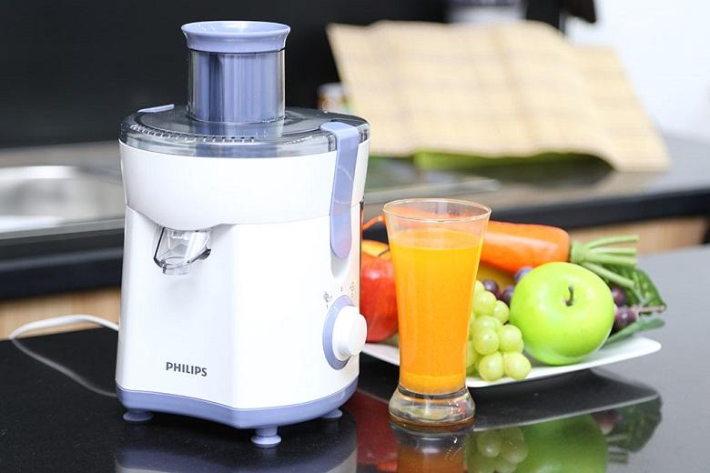 Máy ép trái cây Philips được làm từ chất liệu cao cấp