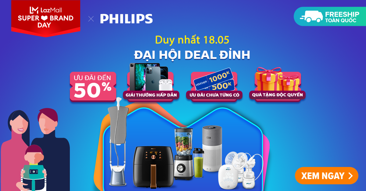 Philips khuyến mãi