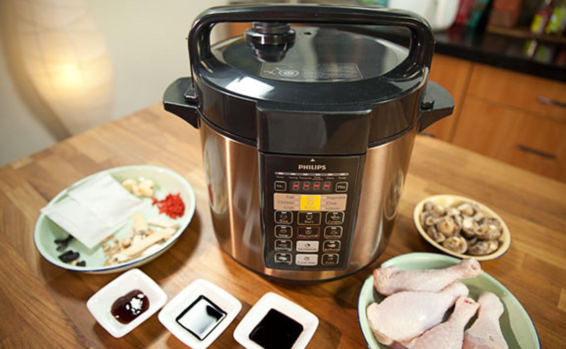 Nồi áp suất Philips tiết kiệm thời gian nấu nướng