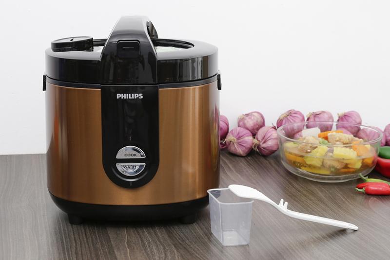 Nồi cơm điện Philips đảm bảo an toàn và chất lượng cao cấp