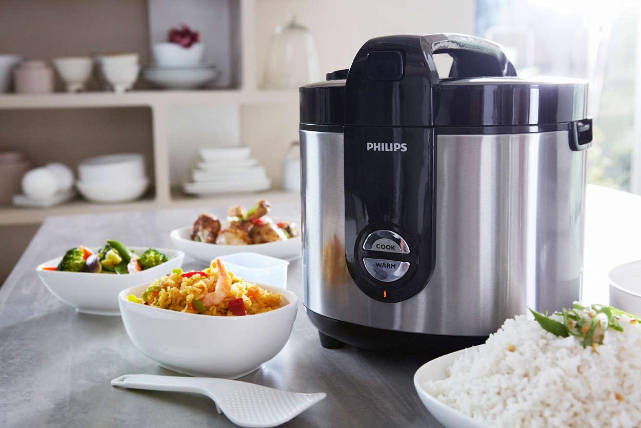 Nồi cơm điện Philips nấu cơm thơm ngon hấp dẫn